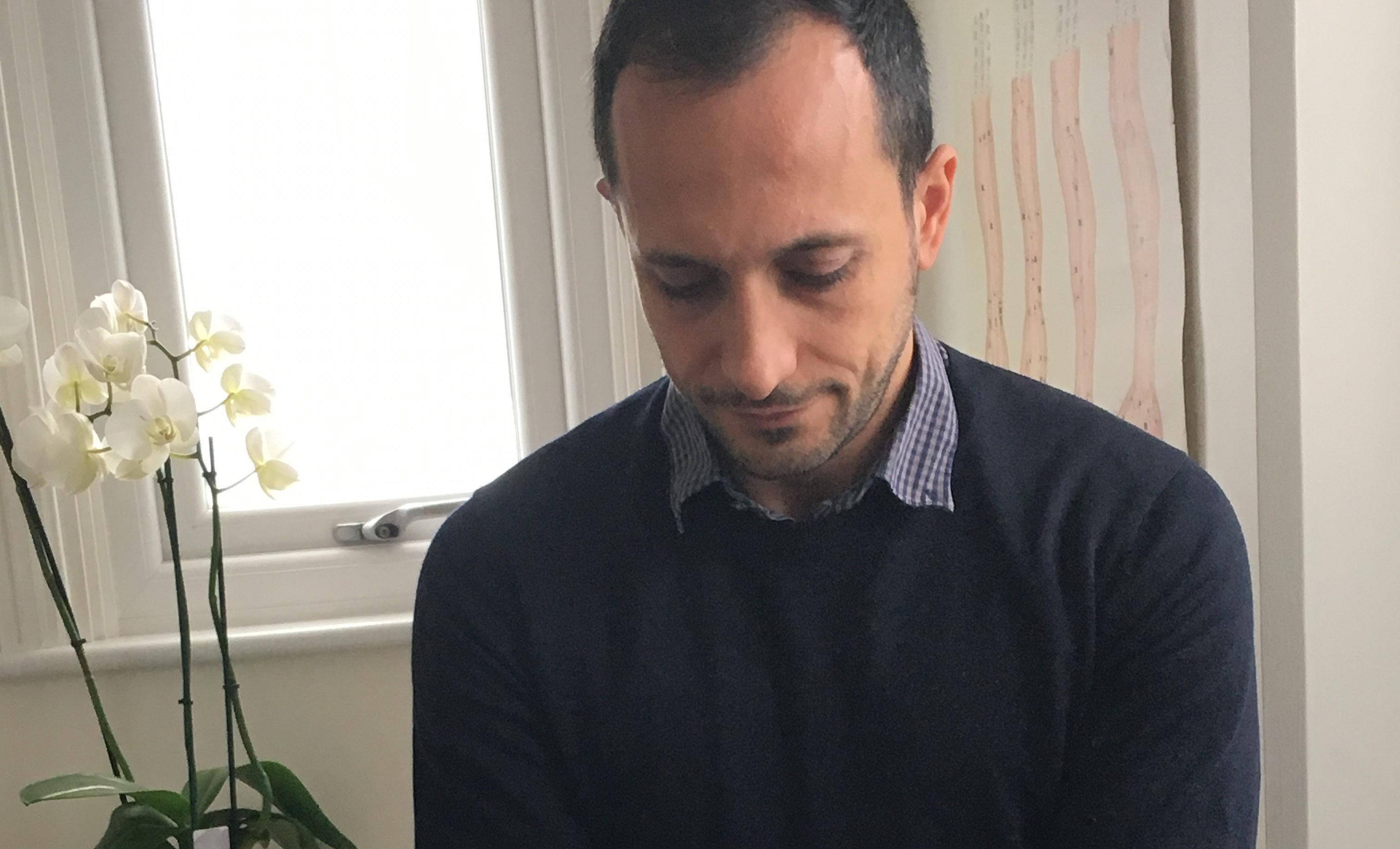 Acupuncturist and massage therapist Pouyan Salimian